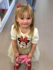 Toddler first dentist visit